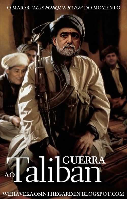 Luis amado guerra ao taliban