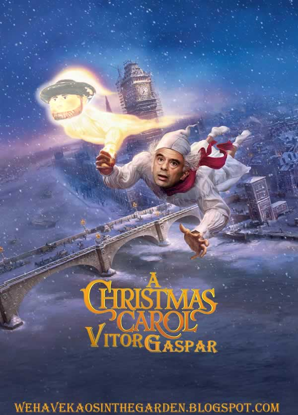 vitor gaspar a christmas carrol