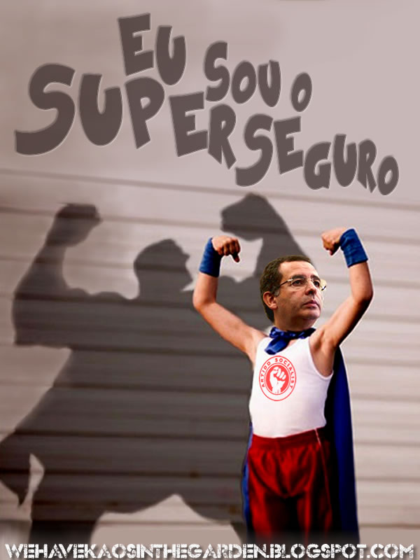antonio jose seguro eu sou o superseguro
